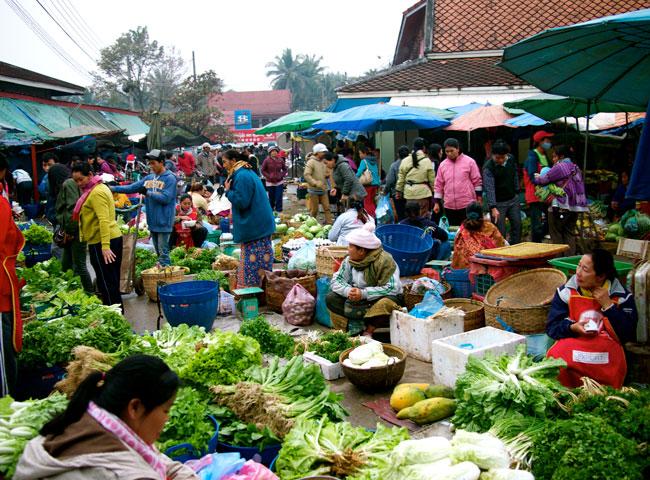 Wet Market Hanoi