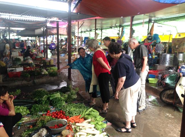 Touring Hanoi Market