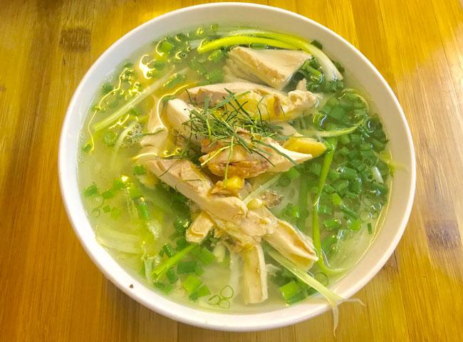 best chicken pho in Hanoi
