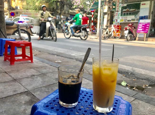 Ta Hien Street Coffee