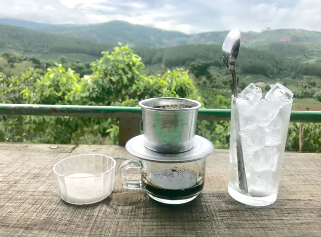 Brewing Iced Black Coffee