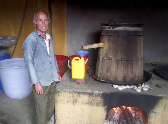 Rice wine cooker